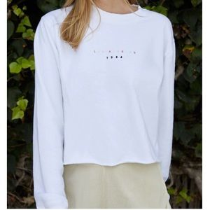 Brandy Melville Los Angeles crew neck